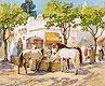 At the Fountain, Algiers | Frederick Arthur Bridgman