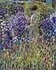 Lady in a Garden | Frederick Carl Frieseke