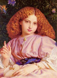 The Child Miranda, 1864 von Frederick Burton | Gemälde-Reproduktion
