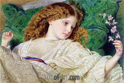 Frederick Burton | Dreams, c.1861