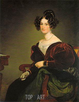 Amalie Klein, geb. von Henikstein, 1834 | Friedrich von Amerling | Painting Reproduction