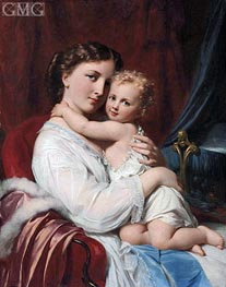 A Mother's Love | Zuber-Buhler | Painting Reproduction
