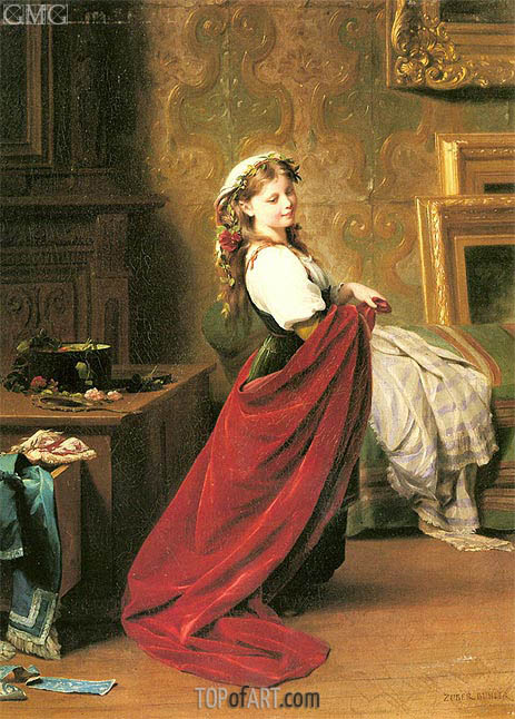 Dressing Up, undated | Zuber-Buhler | Painting Reproduction