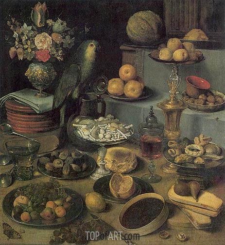 Georg Flegel | Large Food Display, undated