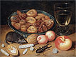 Still Life with Chestnuts and Hazelnuts | Georg Flegel