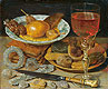 Meal with Fruit and Sweetmeats | Georg Flegel