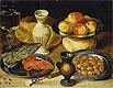 Meal with Pike Head | Georg Flegel