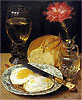 Snack with Fried Eggs | Georg Flegel