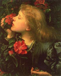 Dame Alice Ellen Terry (Choosing), c.1864 by Frederick Watts | Painting Reproduction