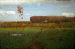 October Noon | George Inness | outdated