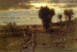 The Clouded Sun | George Inness | outdated