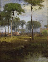 Early Morning, Tarpon Springs, 1892 von George Inness | Gemälde-Reproduktion
