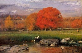 Morning, Catskill Valley | George Inness | outdated