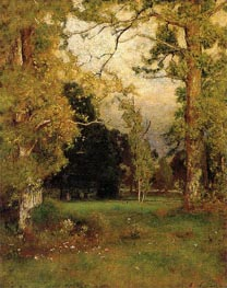 Late Afternoon, c.1882 von George Inness | Gemälde-Reproduktion