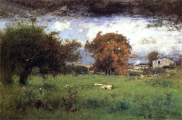 Early Autumn, Montclair, 1888 by George Inness | Painting Reproduction
