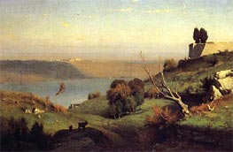 Castel Gandolfo, 1876 by George Inness | Painting Reproduction
