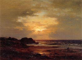 Coast Scene | George Inness | Painting Reproduction
