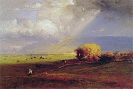 Passing Clouds | George Inness | Painting Reproduction