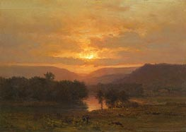 Sunset | George Inness | outdated
