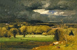 The Coming Storm | George Inness | Painting Reproduction