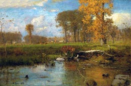 Spirit of Autumn | George Inness | outdated