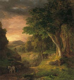 In the Berkshires | George Inness | Painting Reproduction