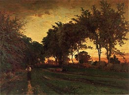 Evening Landscape | George Inness | Painting Reproduction