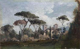 View near Florence | George Inness | Painting Reproduction
