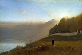 Lake Nemi, 1872 by George Inness | Painting Reproduction