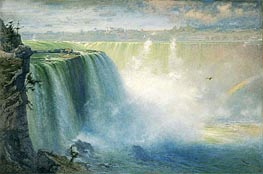 Blue Niagara, 1884 by George Inness | Painting Reproduction