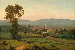 The Lackawanna Valley, c.1856 by George Inness | Painting Reproduction