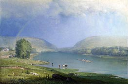 The Delaware Water Gap | George Inness | outdated