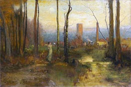 The Mill Stream, Montclair, New Jersey | George Inness | outdated