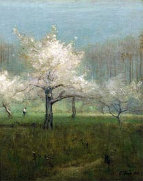 Apple Blossom Time | George Inness | outdated