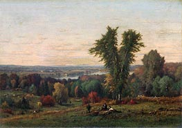 Landscape near Medfield, Massachusetts | George Inness | outdated