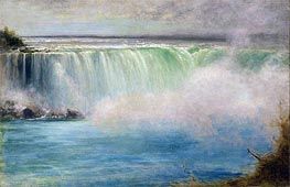 Niagara Falls, 1885 by George Inness | Painting Reproduction