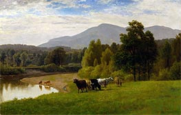Pasture Lands, 1867 by George Inness | Painting Reproduction