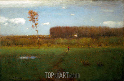 George Inness | October Noon, 1891