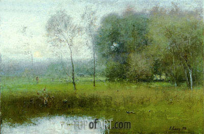 George Inness | Summer, Montclair (New Jersey Landscape), 1891