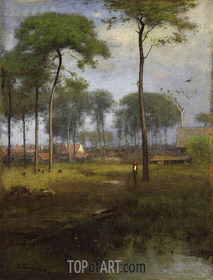 George Inness | Early Morning, Tarpon Springs, 1892