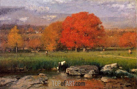 Morning, Catskill Valley, 1894 | George Inness | Gemälde Reproduktion