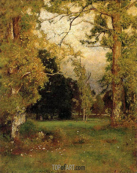 Late Afternoon, c.1882 | George Inness | Painting Reproduction