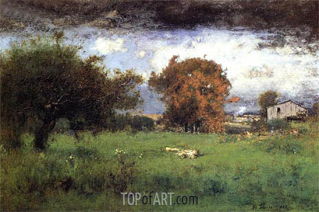 George Inness | Early Autumn, Montclair, 1888