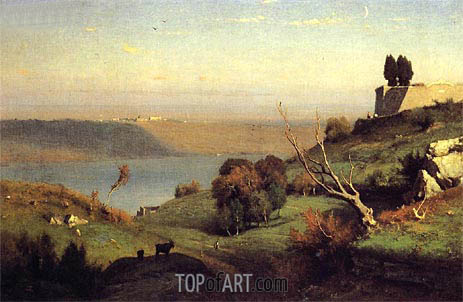 George Inness | Castel Gandolfo, 1876