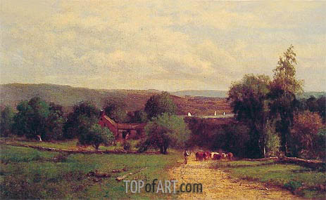 Spring, 1860 | George Inness | Painting Reproduction