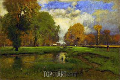 October, 1886 | George Inness| Painting Reproduction