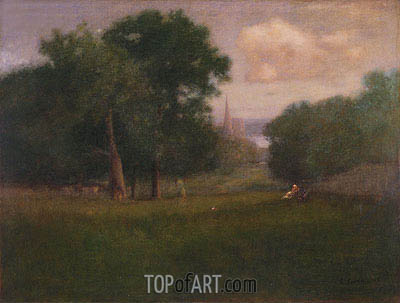 George Inness | St. Andrews, New Brunswick, 1893