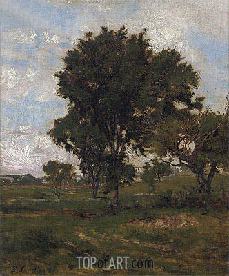 The Elm Tree,  | George Inness| Painting Reproduction