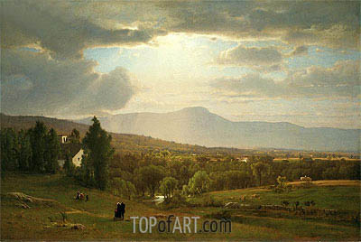 Catskill Mountains, 1870 | George Inness | Painting Reproduction