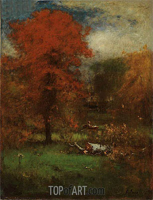 George Inness | The Mill Pond, 1889